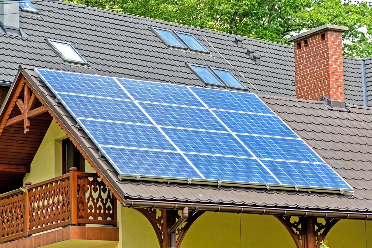 Ogniwa fotowoltaiczne na dachu